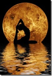 pinterest moon yoga