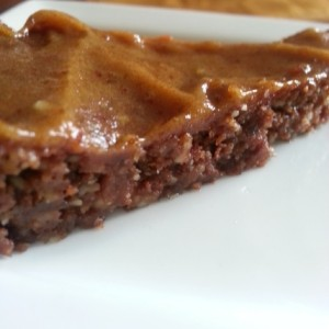 Caramello Pecan Brownie